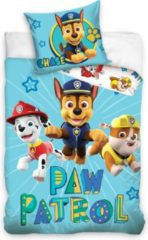 Blauwe CharactersMania Paw Patrol Dekbedovertrek Junior 100x135 Katoen