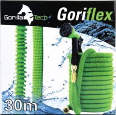 GorillaTech XXL Magic Hose Xtreme Elastische Flexibele Tuinslang 30 meter - Extreem Duurzaam- Nieuwste Model - Sproeikop met 8 standen