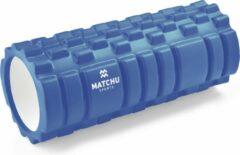 Matchu Sports Foam Roller - Blauw - 33cm - Ø14cm