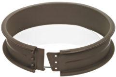Bruine Lurch - Flexiform - Springvorm - Met glasbodem - Silicone - Ø 26cm