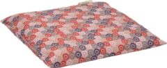 Rode D&L Kersenpitkussen Classico - 25 x 27cm - Roze met Cirkels