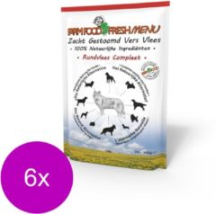 Farm Food Fresh Menu Rundvlees - Hondenvoer - 6 x 300 g
