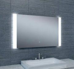 Douche Concurrent Badkamerspiegel Sunny 100x60cm Geintegreerde LED Verlichting Verwarming Anti Condens Touch Lichtschakelaar Dimbaar