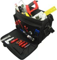 Zwarte Toolpack gereedschap- en laptoptas 360.045