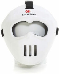 Witte Brabo Facemask Wit