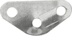 Proplus Scheerlijnspanner Driehoek Aluminium 35 Mm Zilver