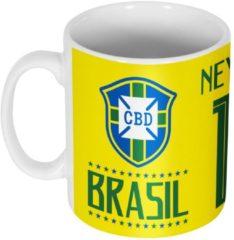 Groene Re-take Brazilië Neymar JR Team Mok