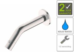 Boss & Wessing BWS Inbouw Toiletkraan Parvati Muur Rond 22x8x5,5 cm Chroom
