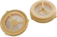 Bruine Xavax Hervulbare pads, set van 2 voor Senseo koffiezetapparaten (of soortgelijk)