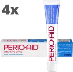 Perio Aid 4x Perio-Aid Intensive Care Gel Tandpasta - Voordeelverpakking