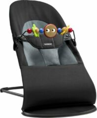 BabyBjörn BABYBJÖRN Wipstoeltje Balance Soft Bundle - Zwart-Donkergrijs Cotton incl Speelboog Ondeugende Oogjes