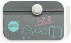 Witte We R Memory Keepers 1-2-3 Punch Board