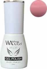 Roze Gellex White Angel Gellex Deluxe Gel Polish, gellak, gel nagellak, shellac - Mellow Rose 122