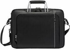 Zwarte Tumi Arrivé Hannover Slim Briefcase Leather black