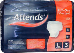 Attends Pull-ons Discreet 3 Large (10st)