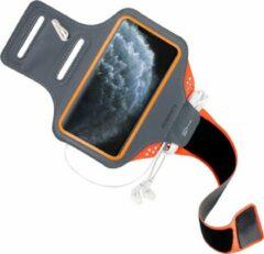 Oranje Mobiparts Comfort Fit Sport Armband Apple iPhone 11 Pro Max Neon Orange