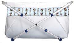 Witte BiBaBad verstelbaar 70-90 cm - piraat