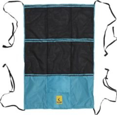 Lichtblauwe A.K.A Camping organizer – opbergrek – camping – stellingkast – campingorganizer – hangkast – opbergkast – hangopbergzakken – opvouwbare kledingkast – stoffen kledingkast – caravan – tent – thuis – opbergkastje – hangkast – opbergsysteem –