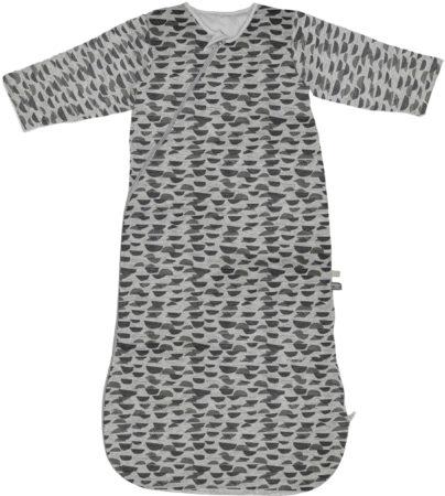Afbeelding van Snoozebaby slaapzak lange mouw van Oekotex katoen - 3-9 maanden - TOG 2.0 - Frost Grey grijs
