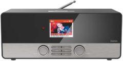Hama DIR3100 Tafelradio met internetradio DAB+, FM AUX, Internetradio, USB Spotify Zwart