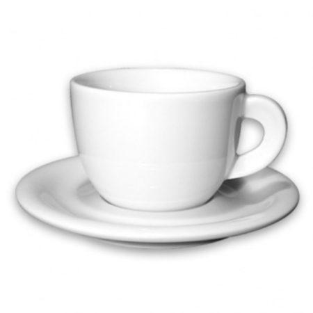 Afbeelding van Porcellane d'ancap ANCAP Cappuccinokopjes Edex wit set van 6
