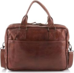 Beardesign Bear Design CL32843 Laptoptas 15 inch cognac