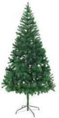 VidaXL Kunstkerstboom met stalen standaard 210 cm 910 takken