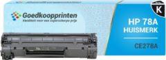 Goedkoopprinten Huismerk voor HP 78A toner / HP CE278A toner Zwart - 2.500 afdrukken