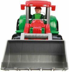 Lena tractor TRUXX jongens 38,1 x 16,5 cm rood/groen