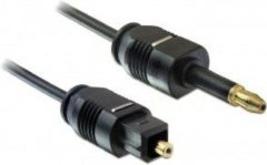 Delock Cable Toslink Standard male > Toslink mini 3.5 mm mal