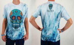 Blauwe Bones Sportswear Heren T-shirt Mexican maat S