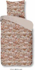 Wendebettwäsche, Good Morning, »Brick«, in Mauerdesign