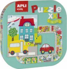 Apli Kids XXL Kinderpuzzel Stad