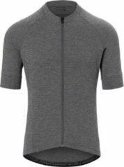 Grijze Giro New Road Fietsshirt Grey Heater L