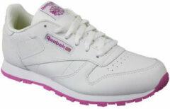 Witte Reebok Classic Leather BS8044, Kinderen, Wit, Sportschoenen maat: 36.5 EU