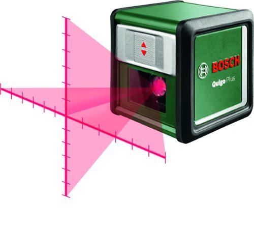 Afbeelding van Bosch Home and Garden Quigo Plus Optisch nivelleerinstrument Zelfnivellerend, Incl. statief Reikwijdte (max.): 7 m Kalibratie conform: Fabrieksstandaard