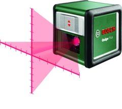 Bosch Home and Garden Quigo Plus Optisch nivelleerinstrument Zelfnivellerend, Incl. statief Reikwijdte (max.): 7 m Kalibratie conform: Fabrieksstandaard