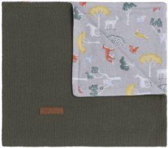 Baby's Only Forest Wiegdeken Khaki 70 x 95 cm