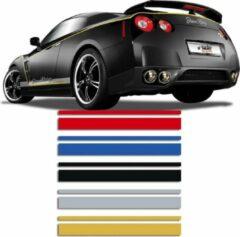 Universeel Universele zelfklevende striping AutoStripe Cool350 - Zwart - 2+3mm x 975cm