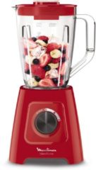 Moulinex Blendforce 2 LM420510 - Blender - Rood