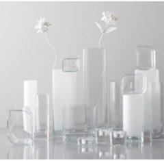 "Leonardo Vase ""Lucca"" aus Glas, eckig, klar, 20 x 7,5 x 6 cm, transparent (1 Stück)"