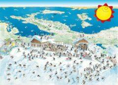 Akena Italy Legpuzzel Italiaans panorama getekend door Fabio Vettori 1080 stukjes