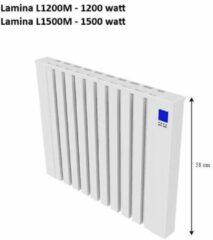Witte Jawo Lamina Electrische Radiator met Koalit steen 1200 Watt; 24 uur Verwarming voor 6 uur stroom