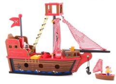 Bruine Jouéco piratenschip 7-delig