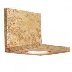Goudkleurige Goldfolierte LED-Wandleuchte Talina 1-flg.