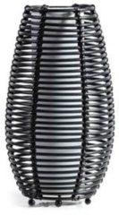 ETH Expo ETH - tafellamp - Cocoon - rotan - zwart