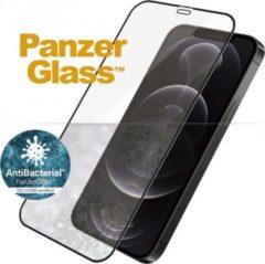 PanzerGlass Case Friendly Screenprotector voor iPhone 12, iPhone 12 Pro - zwart