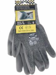 Benson Werkhandschoen - Werkhandschoenen - PU FLEX - Snijwerend - grijs