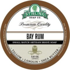 Stirling Soap Co. scheercrème Bay Rum 165ml