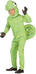 Groene Fiestas Guirca Kameleon kostuum voor volwassenen - Volwassenen kostuums
